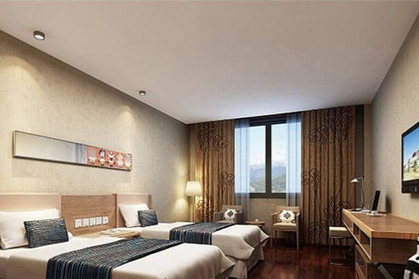 稻城锦江亚丁酒店大厅房间展示